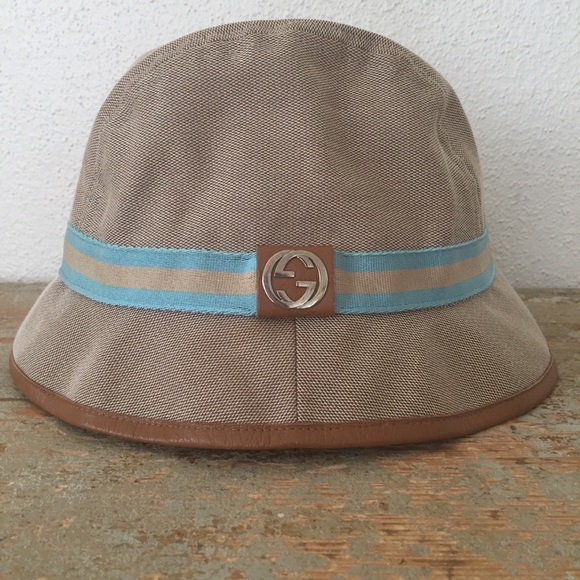 4de04345111 Authentic Gucci Bucket Hat